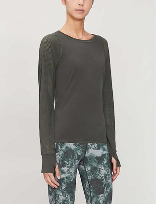 Sweaty Betty Breeze wool-blend top
