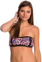Bikini Lab SGT. Leopard Bandeau Bikini Top 8113200