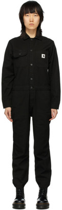 Carhartt Work In Progress Black Tara Coveralls