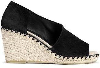 Vince Sonora Peep-Toe Suede Espadrille Wedge Sandals
