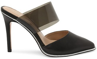 BCBGeneration Helena Point-Toe Leather Pumps