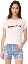 A Fine Line Bon Jour / Au Revoir Tee