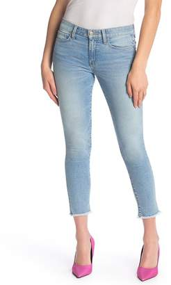 Joe's Jeans The Icon Cropped Frayed Jeans