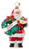 Christopher Radko Embrace The Year Ornament