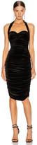 Norma Kamali Bill Dress in Black   FWRD