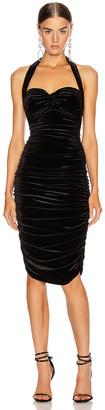 Norma Kamali Bill Dress in Black | FWRD