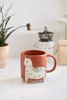 Urban Outfitters Llama Ceramic Mug