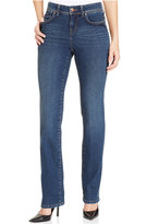 Style&Co. Style & Co. Petite Astor Wash Straight-Leg Jeans, Only at Macy's