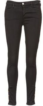 Acquaverde ALFIE women's Skinny Jeans in Black