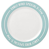 Kate Spade All in Good Taste Order's Up Early Bird Special Accent Plate