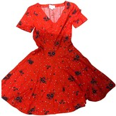 Band Of Outsiders Red Cotton Dress for Women