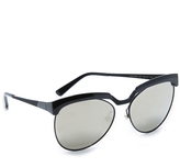 MCM Cutout Mirrored Sunglasses