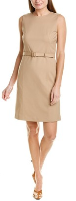 Lafayette 148 New York Suzanne Wool Sheath Dress