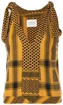 Cecilie Copenhagen 'Topanga' sleeveless printed top