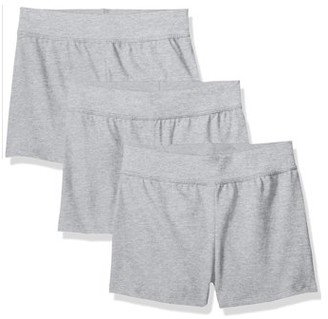 Hanes Girls 4-16 Basic Jersey Shorts, 3-pack