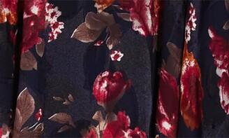 Lucy Paris Burnout Slip Dress