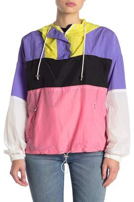 ASTR the Label Sawyer Colorblock Windbreaker