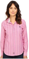 U.S. Polo Assn. Casual Striped Blouse