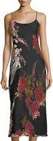 Natori Velvet Burnout Sleeveless Nightgown