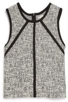 Sally Miller Girl's Shimmer Tweed Top
