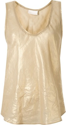 Ginger & Smart Glorious metallized tank top