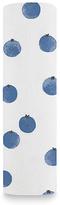 Aden Anais 47'' x 47'' White Blueberries Organic Cotton Swaddle Blanket
