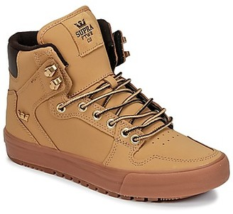 Supra VAIDER CW women's Shoes (High-top Trainers) in Brown
