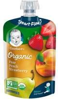 Gerber Organic 2nd Foods Pears Peaches & Strawberries 3.5 oz