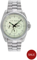 Ted Baker Multi Dial Stainless Steel Mens Watch