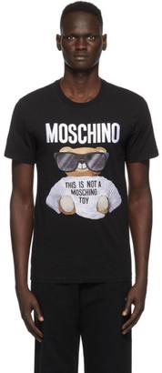 Moschino Black Micro Teddy Bear T-Shirt