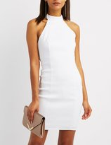 Charlotte Russe Caged O-Ring Bodycon Dress