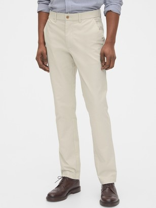 Gap Modern Khakis in Slim Fit with GapFlex