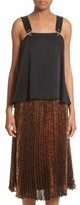 Christopher Kane Women's Ring Pierced Cady Top
