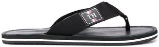 Tommy Hilfiger Logo-Patch Flip Flops