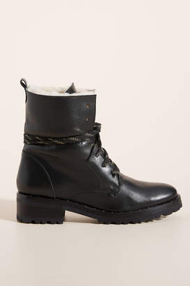 Freda Salvador Lace-Up Hiker Boots