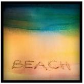 Parvez Taj Beach Sand by Shadow Box Frame)