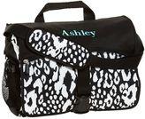 PBteen Gear-Up Black Cheetah Messenger Bag