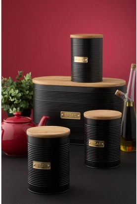 Typhoon Otto Black Tea, Coffee and Sugar Storage Canisters