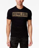 Sean John Men's Big and Tall Fearless Studded T-Shirt