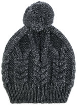 Moncler cable knit beanie