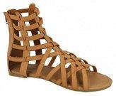 Savannah Womens/Ladies Aztec Cut Out Detail Sandals