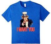 Vintage Uncle Sam shirt I want you retro American t-shirt - -