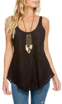 Chaser T-Back Lace Tank