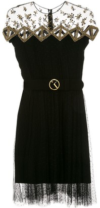 Saiid Kobeisy Sequin Embellished Dress