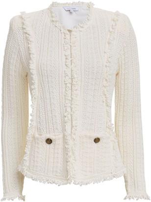 Intermix Ikaterina Ivory Knit Jacket