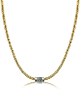 Orlando Orlandini Capriccio - Diamond 18K Gold Chain Snake Necklace