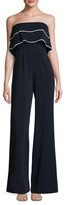Jay Godfrey Johnston Double Layer Jumpsuit