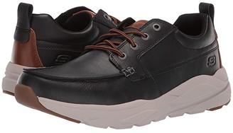 Skechers Verrado - Edric (Black) Men's Lace up casual Shoes