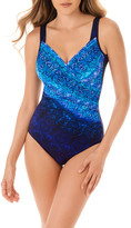 Miraclesuit Blue Curacao Seraphina One-Piece Swimsuit