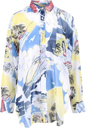 Ermanno Scervino Polyester Shirt